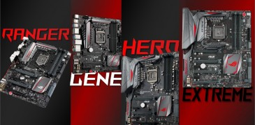 ASUS Z170 ROG Series News