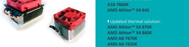 AMD Updates Desktop CPU Line Up