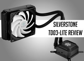 SilverStone Tundra TD03-LITE Liquid Cooler Review