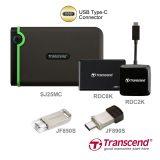 Transcend Introduces Comprehensive USB Type-C Product Line-up