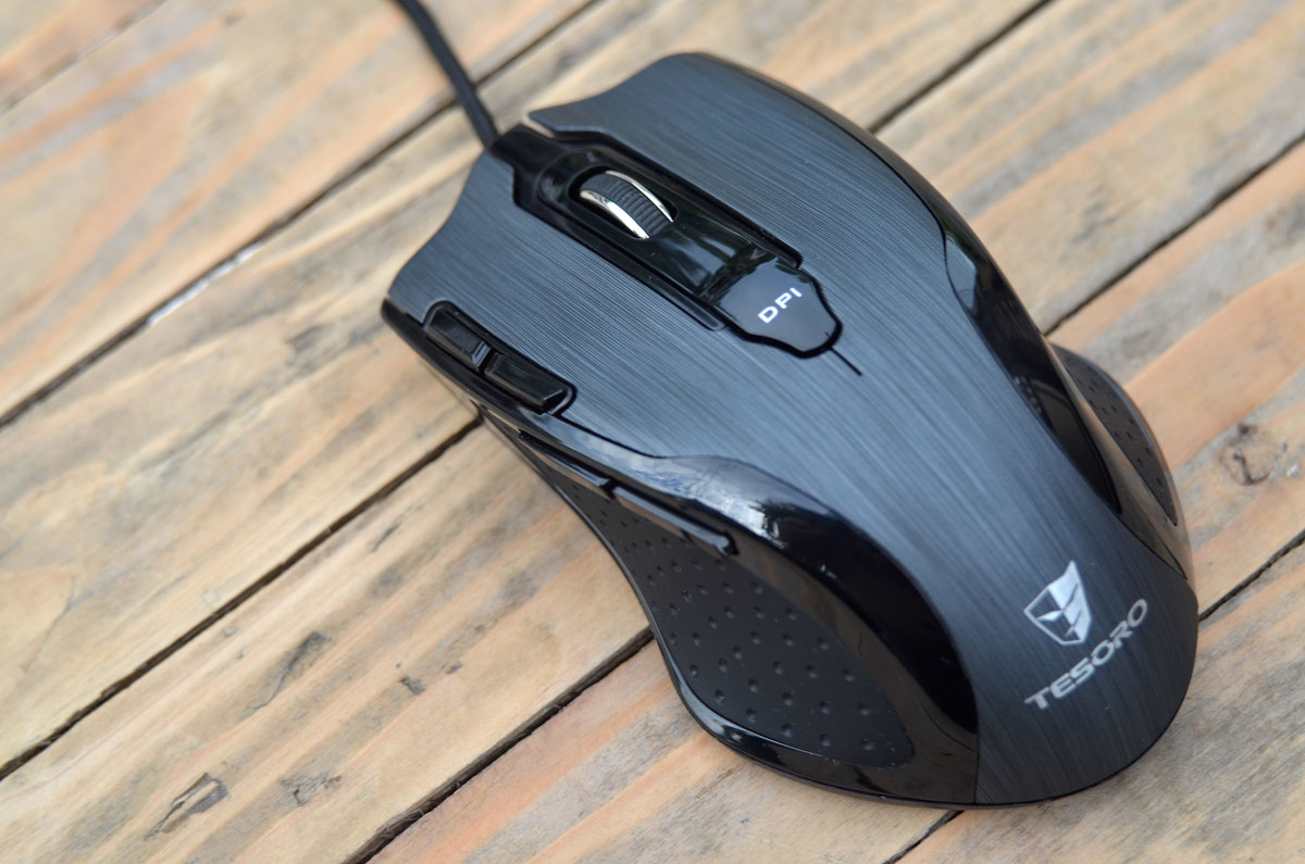 Tesoro Shrike H2L Laser Gaming Mouse Review