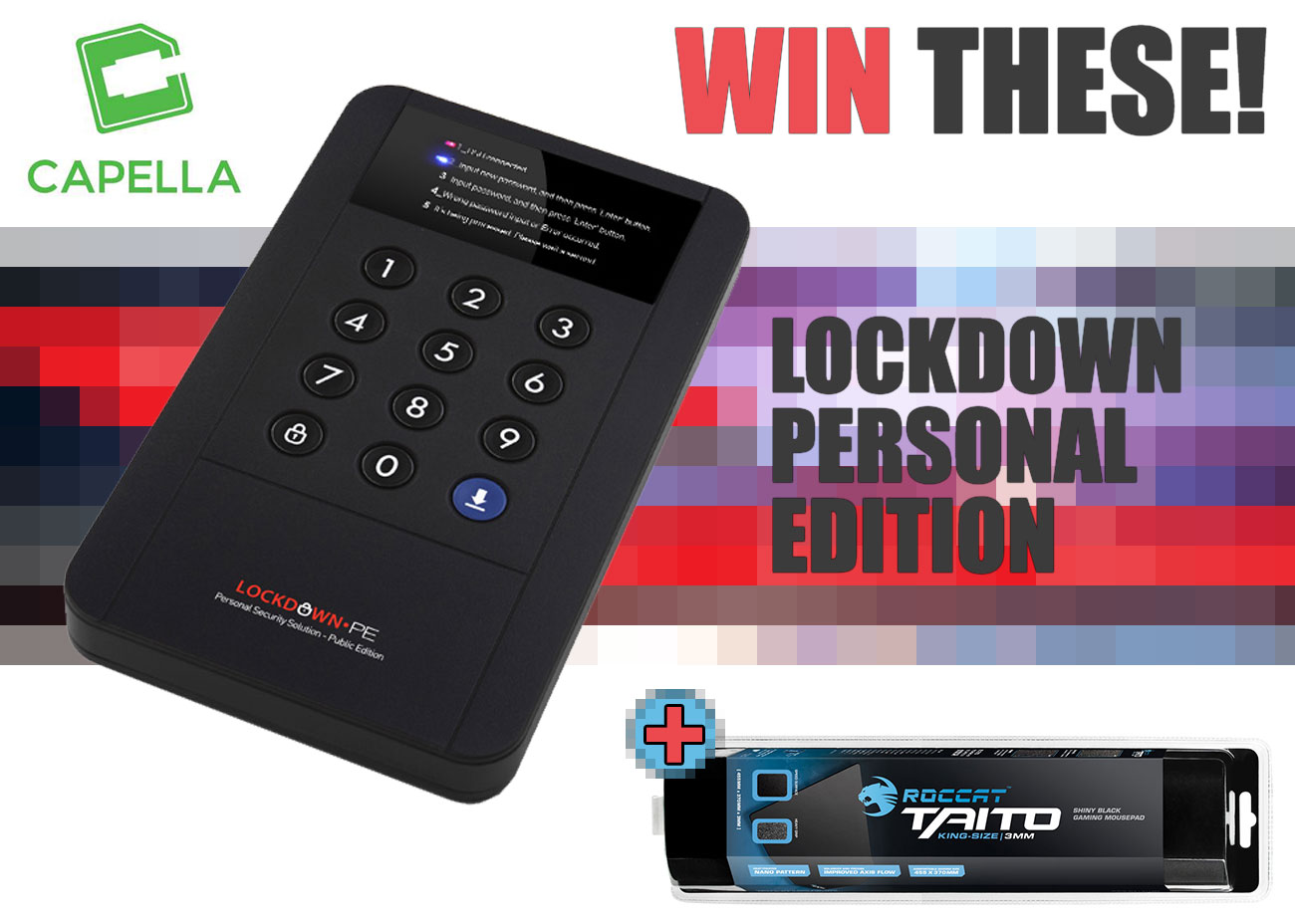 Win Yourself An Encrypted External Enclosure!