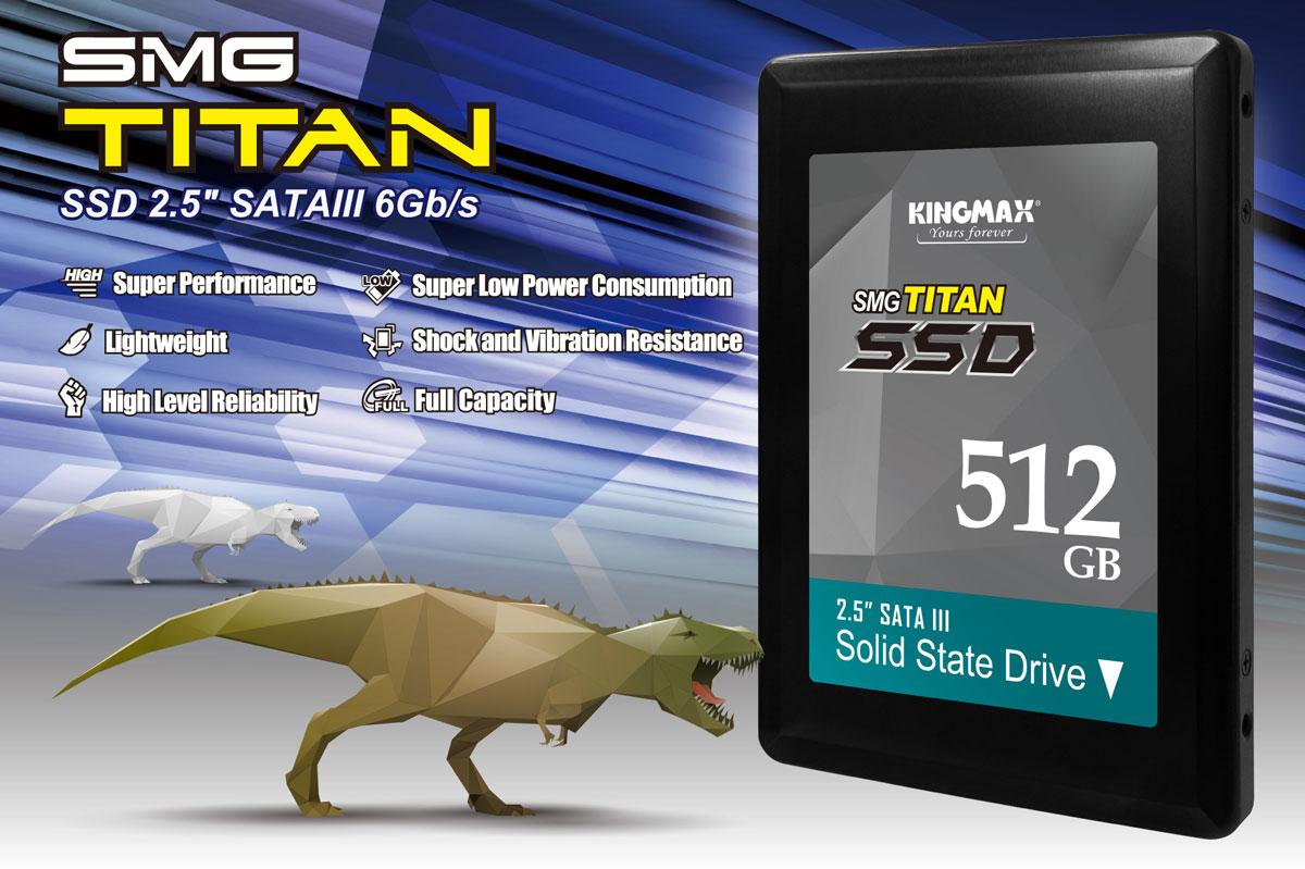 Kingmax Reveals SMG Titan SSD