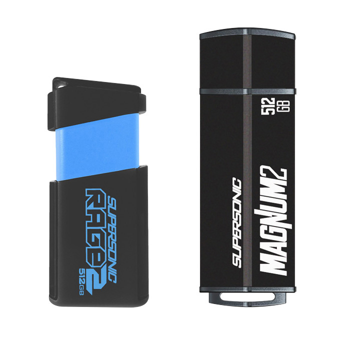 Patriot Launches Second Generation of Supersonic Magnum and Rage USB Flash Drives