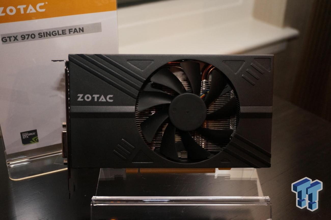 ZOTAC Teases SFF GTX 970 at CES 2015