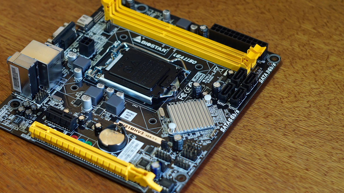 BIOSTAR H81MHV3 mATX Motherboard Review