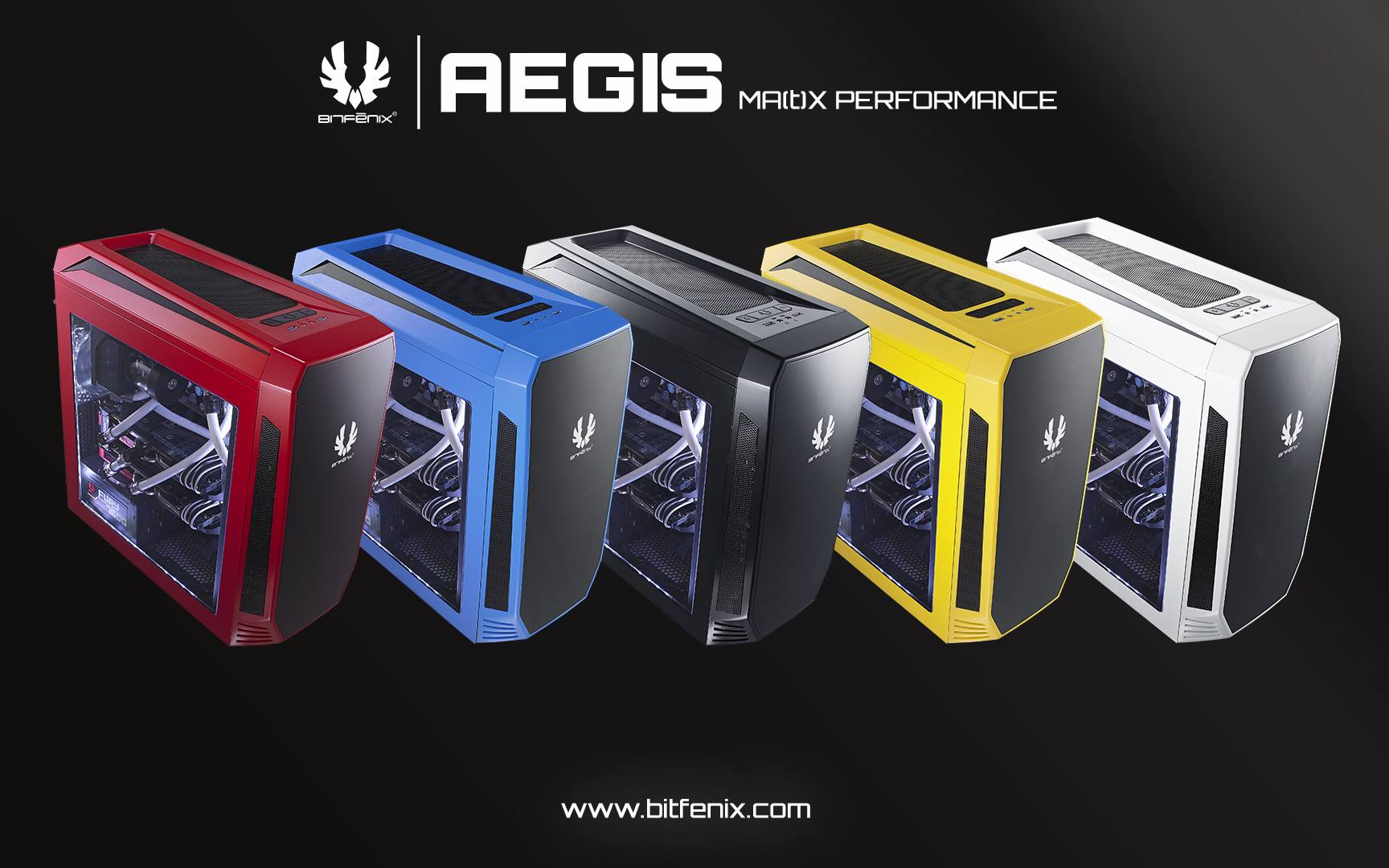 BitFenix Unleashes Aegis Core & Icon Chassis