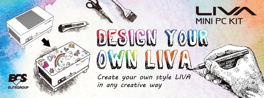 Design Your Own LIVA, Create Your Own Style LIVA in Any Creative Way