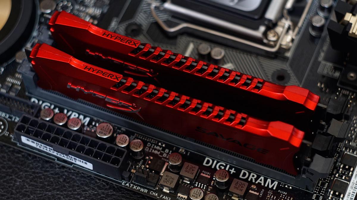 Kingston HyperX Savage DDR3 2400MHz 16GB Memory Kit Review