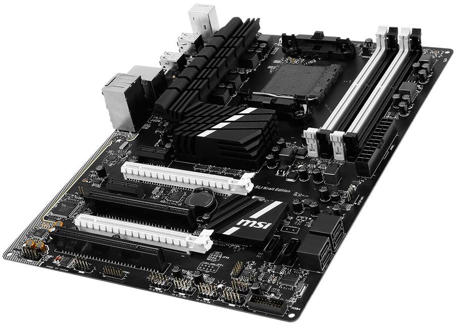 MSI Releases 970A SLI Krait USB 3.1 AMD Motherboard