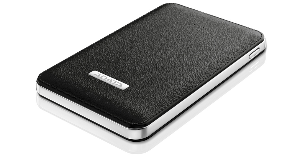 ADATA Launches PV120 Power Bank Leather-Like Exterior