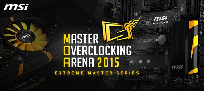 MSI Master Overclocking Arena 2015 Now In Full Swing