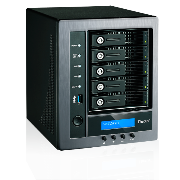 Thecus® Announces N5810PRO: Zero-Crash 5-Bay NAS