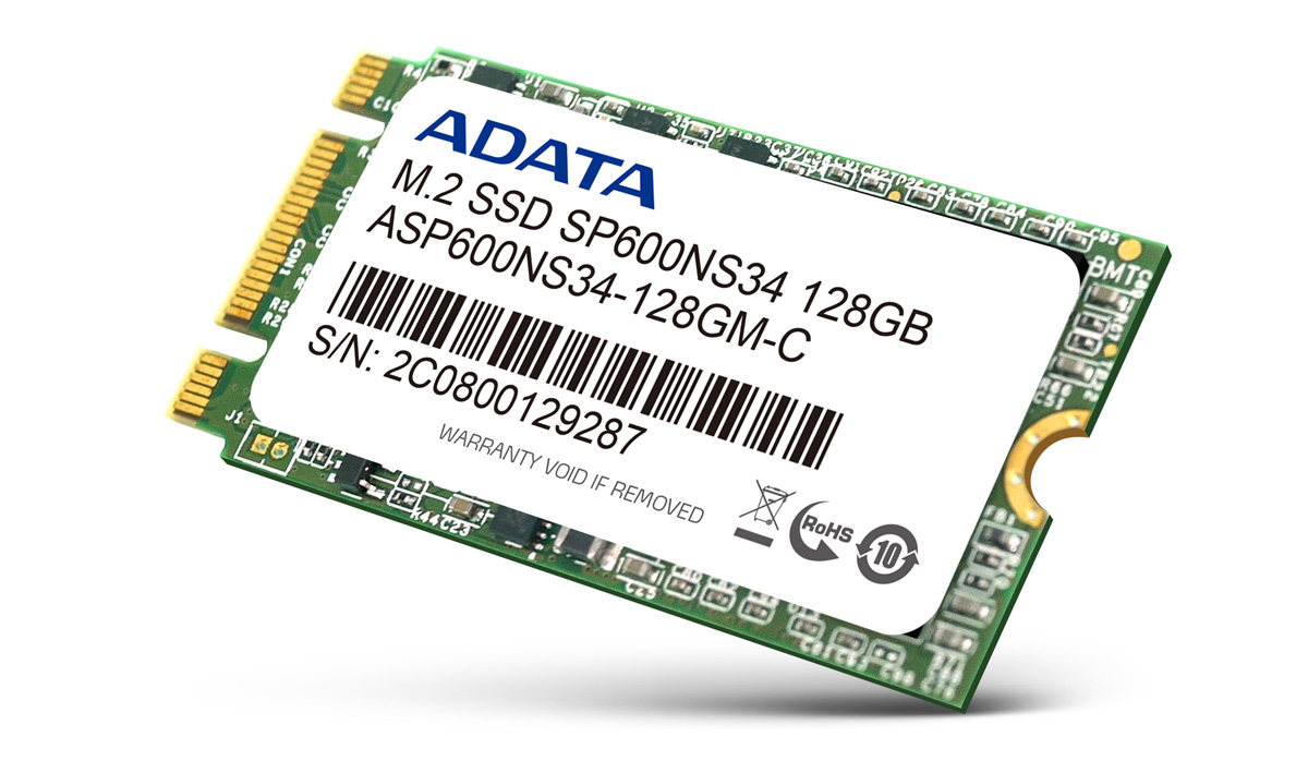 ADATA Launches SP600NS34 M.2 SSD