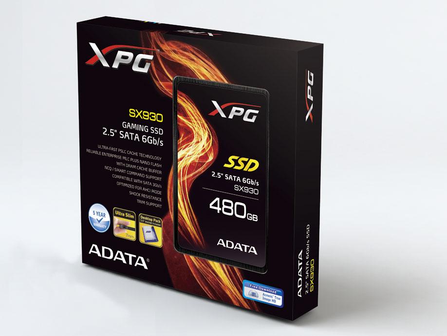 ADATA Launches XPG SX930 Gaming SSD
