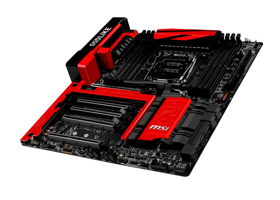MSI Releases the RGB Enabled X99A GODLIKE Gaming Motherboard
