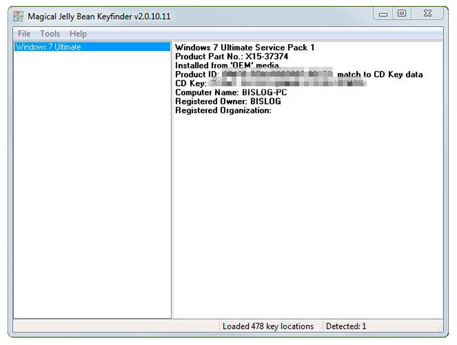 cd key finder download