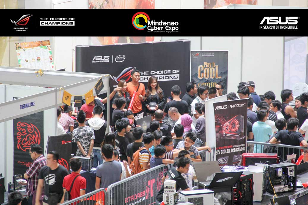 ASUS ROG Unleashes Hardcore Gaming Gears At Mindanao Cyber Expo 2015