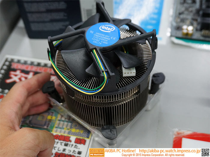Intel Rolls Out The Beefy TS15A 1151 Retail Cooler