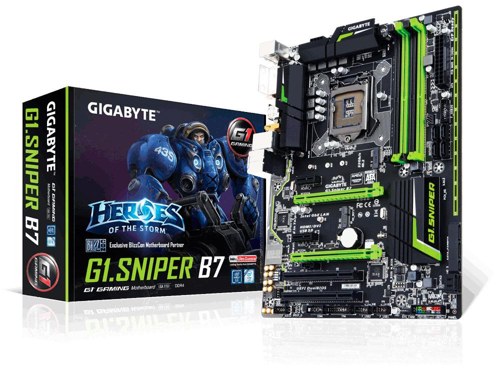 GIGABYTE Teases G1.Sniper B7 Motherboard