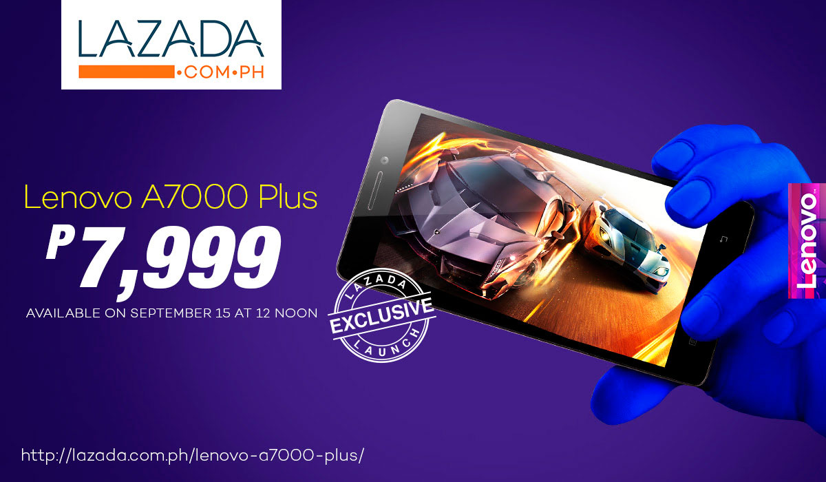 Exclusive Deal: Lenovo A7000 Plus Available Now At Lazada