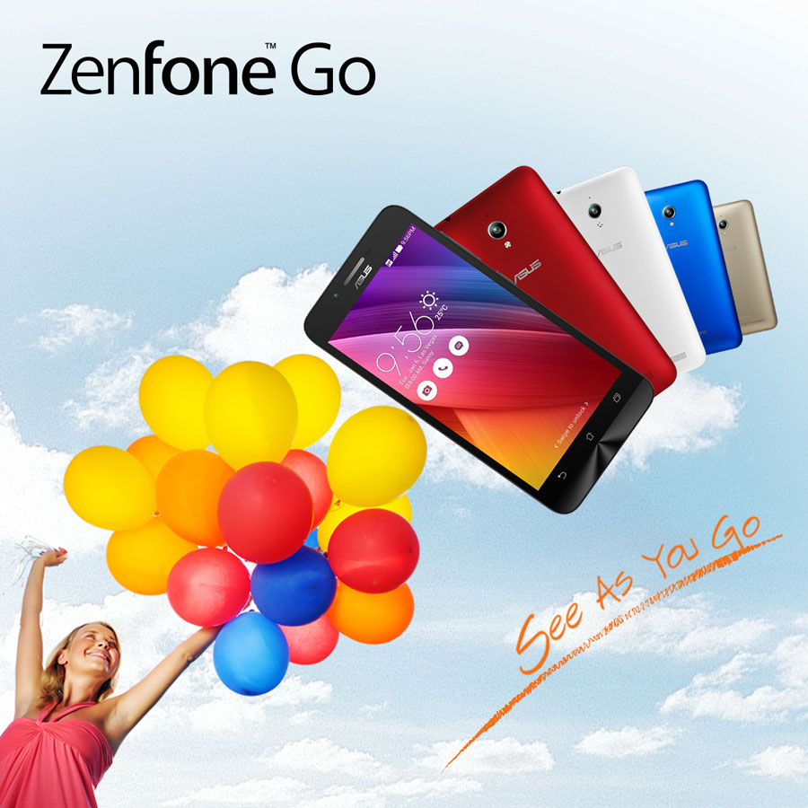 ASUS ZenFone Go Packed With PixelMaster & Android Lollipop