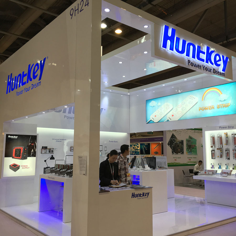 Huntkey Showcases New Products at Global Sources Consumer Electronics Show