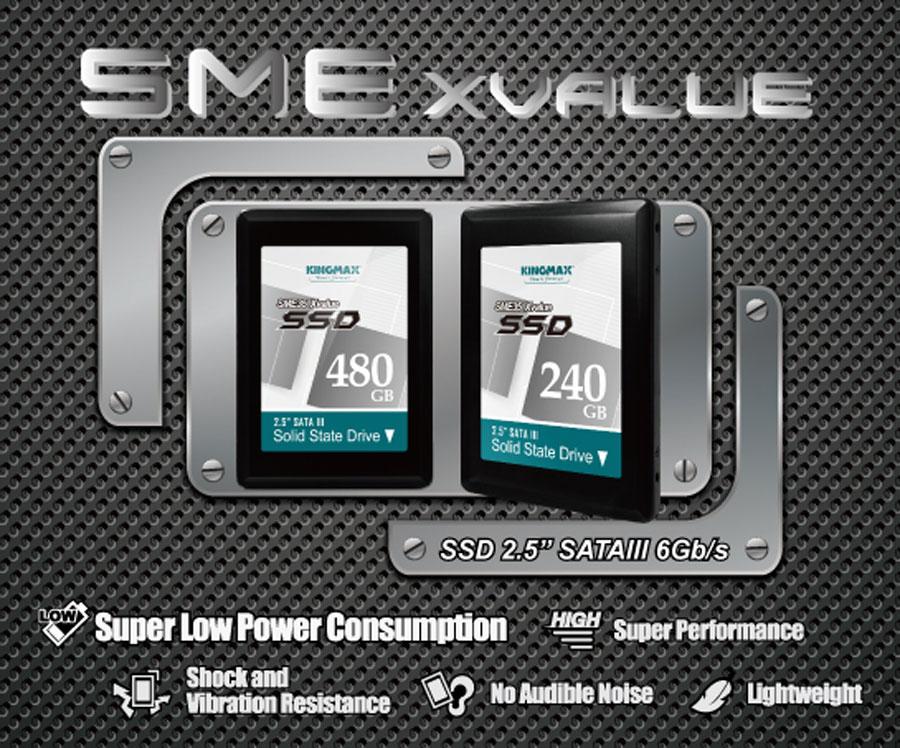 KINGMAX's Premium MLC Guarantees High Stability for SSD