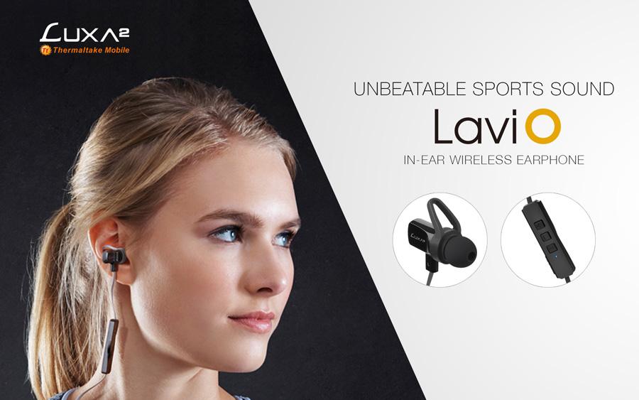 LUXA2 Releases The Lavi O In-Ear Wireless Earphone