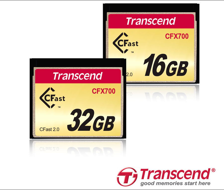 Transcend Launches CFast 2.0 CFX700 Memory Cards