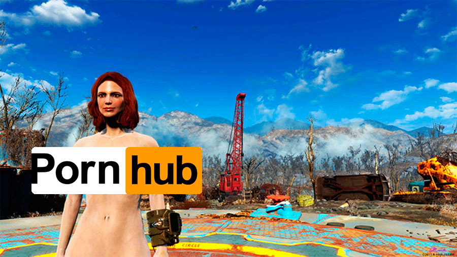 Fallout 4 Blamed For PornHub's Dip In Site Traffic