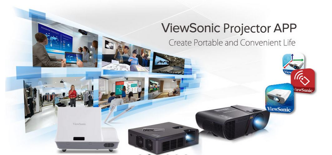ViewSonic Provides Projector Apps For Portable and Convenient Life