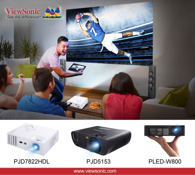 Check Out ViewSonic's Rich Choice of Home Projectors