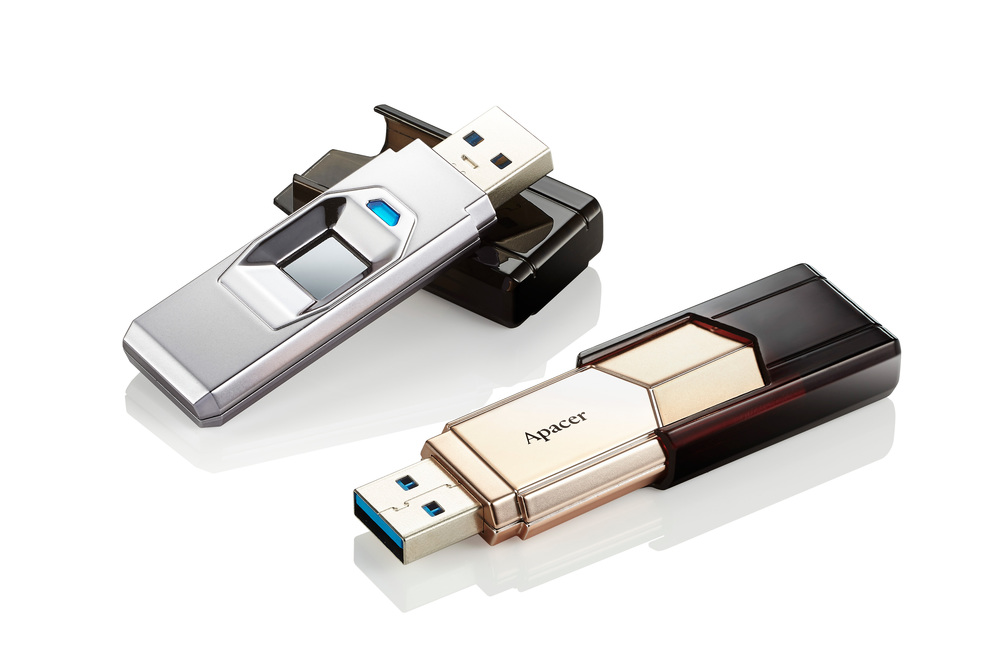 Apacer Outs AH650 Fingerprint Flash Drive