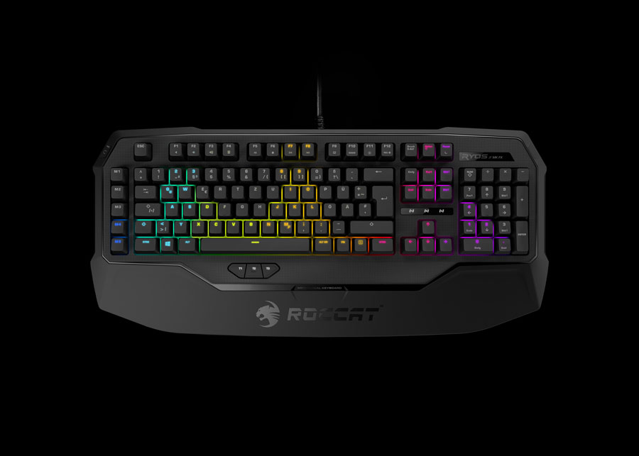 ROCCAT Adds RGB Lighting to the Ryos Series