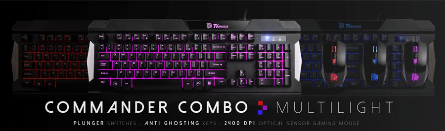 Tt eSPORTS Unveils the New COMMANDER COMBO Gears