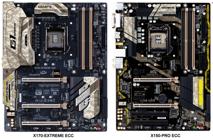 GIGABYTE GA-X170-EXTREME ECC Receives Thunderbolt 3 Certification