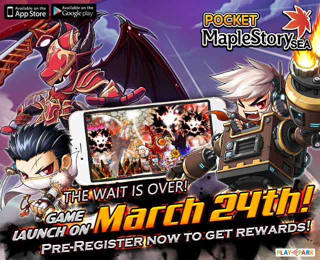 Pocket Maple Story Now Live At Google Play & Apple Store