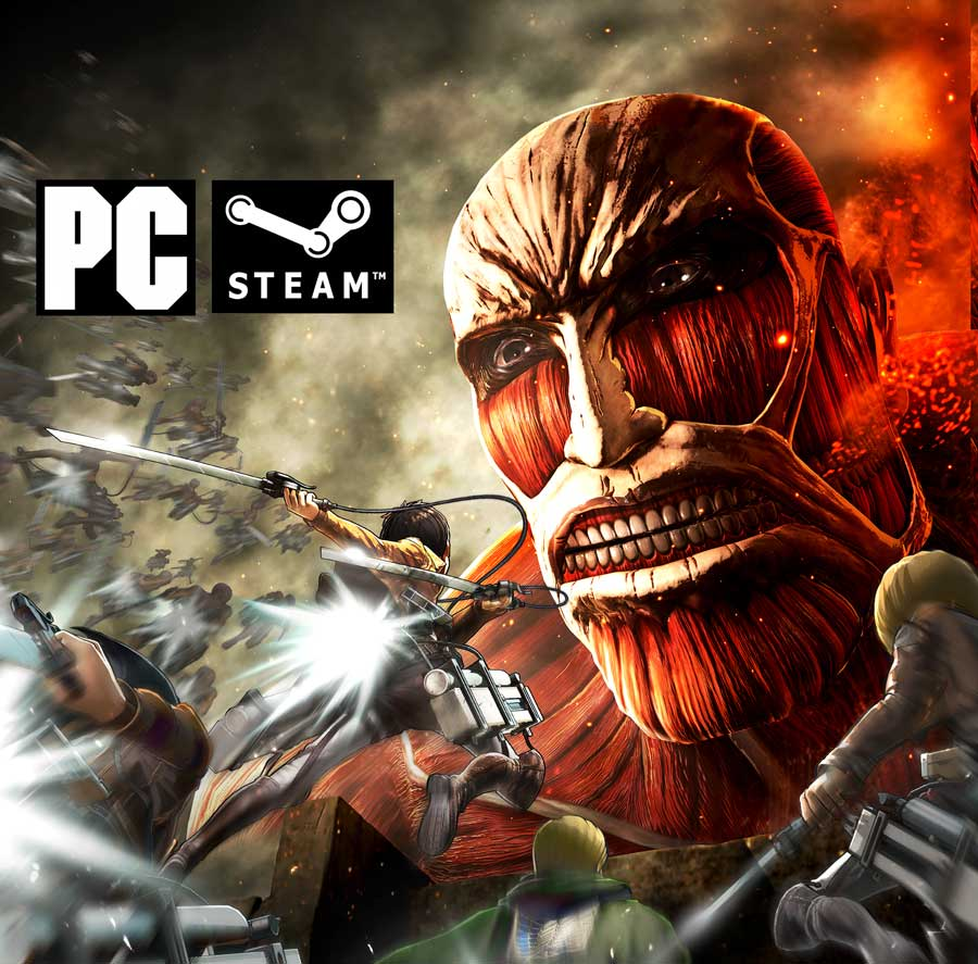 KOEI TECMO Confirms Attack On Titan For PC