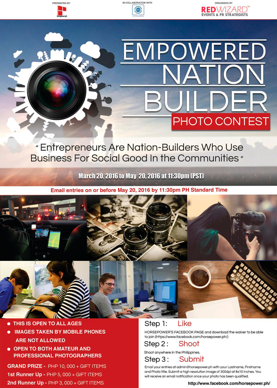 Empowered: Nation Builder Photo Contest Calls For Entries