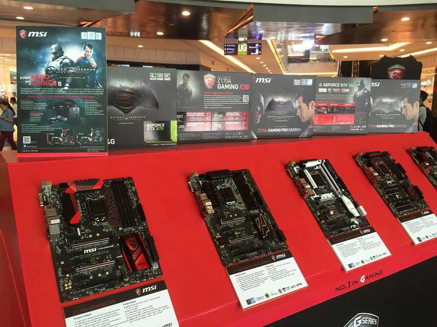 MSI Teams Up With Warner Bros. & DC For The Hero's Choice Campaign