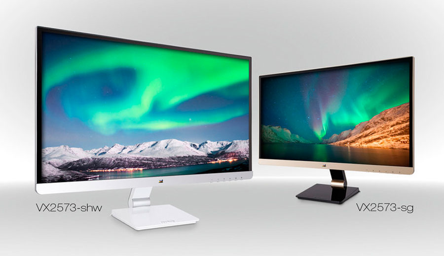 ViewSonic Introduces Stylish VX Series Monitors