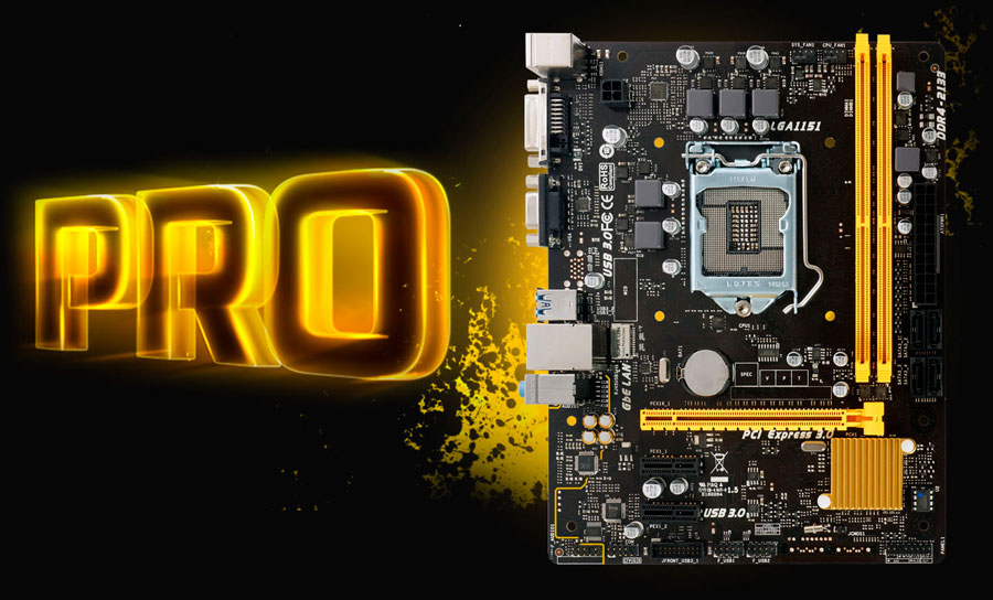 BIOSTAR H110MD PRO D4 Motherboard Announced