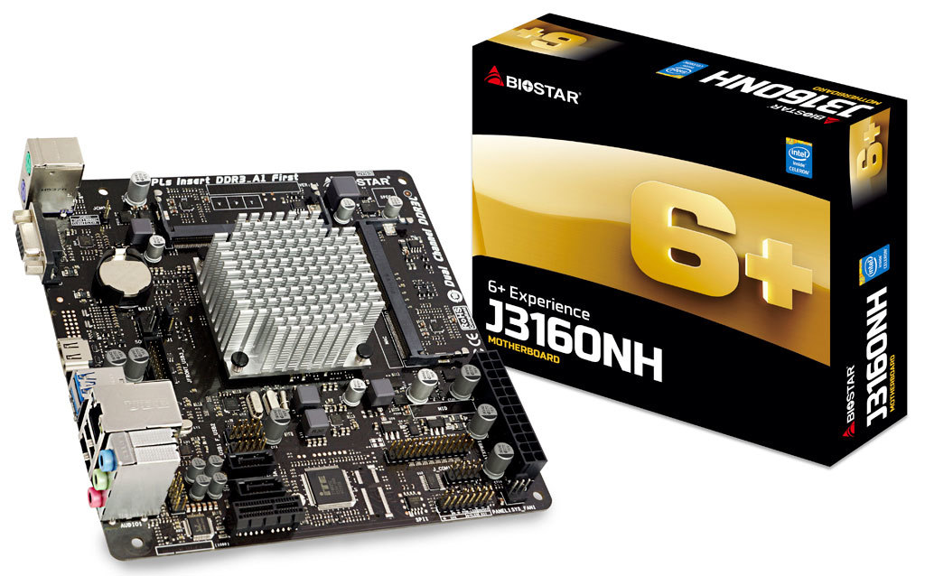 BIOSTAR Announces New Boards Featuring Braswell Refresh Processors