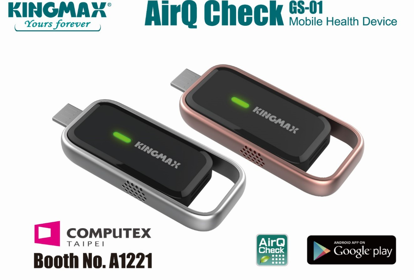 KINGMAX launch of AirQ Check Air Quality Monitoring Mobile Device