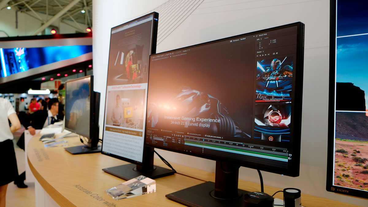 ASUS Expects Global Monitor Shipment To Grow Next Year