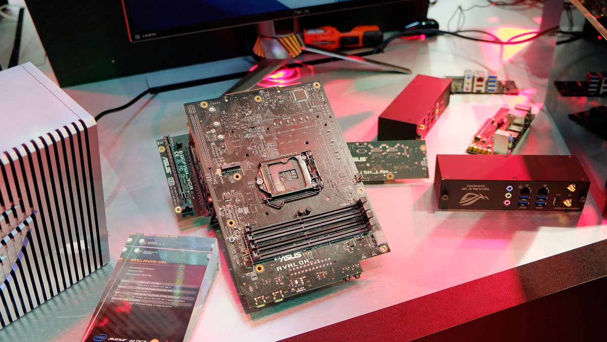 ASUS ROG Shows Off AVALON Modular PC At COMPUTEX 2016
