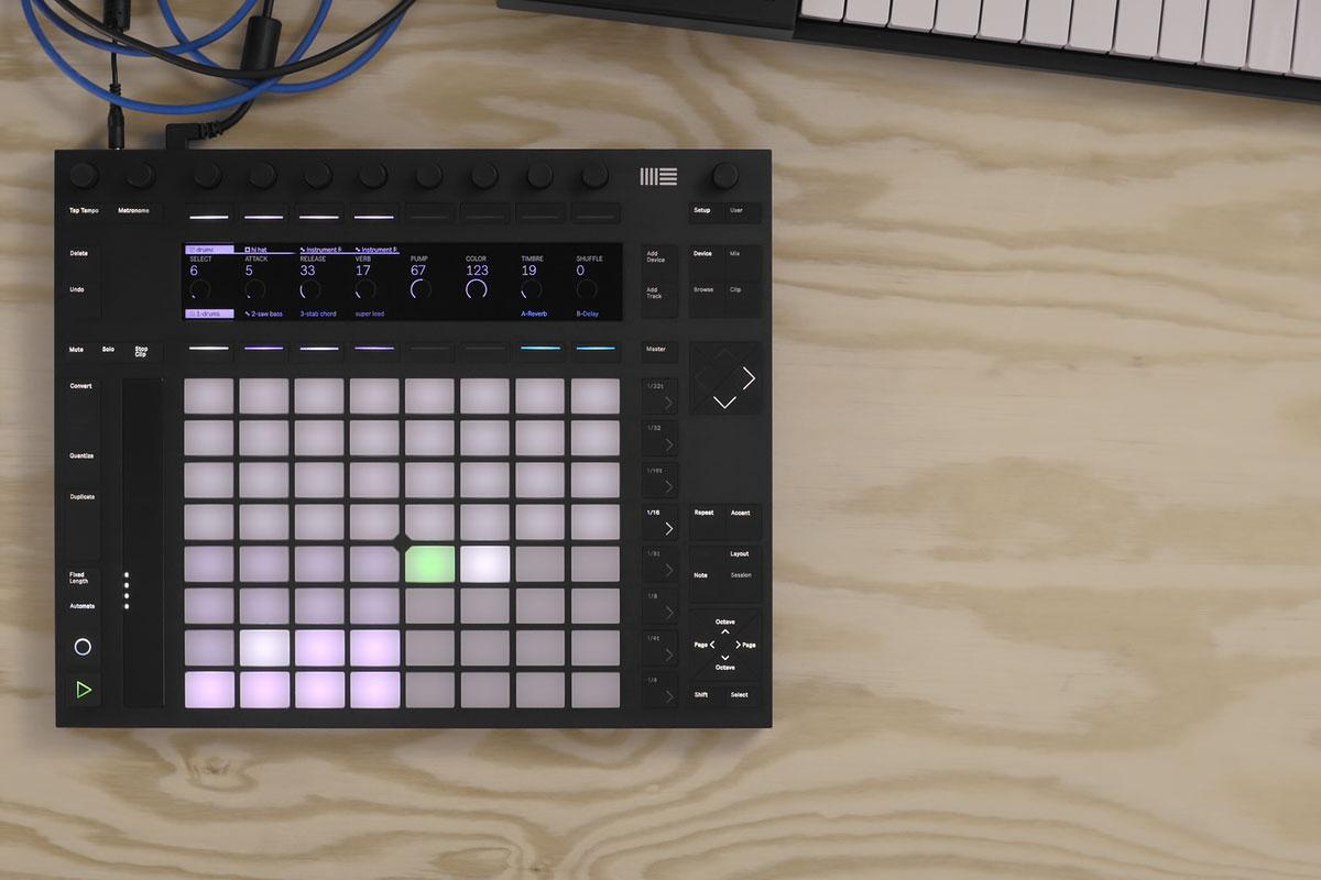 JB MUSIC Keys In Ableton PUSH 2 Release @ PH