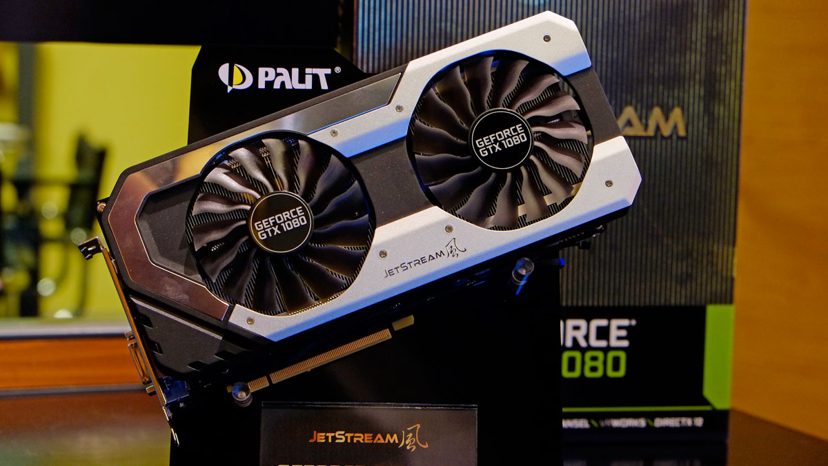 Palit At COMPUTEX 2016 Showcases Game Rock GTX 1080