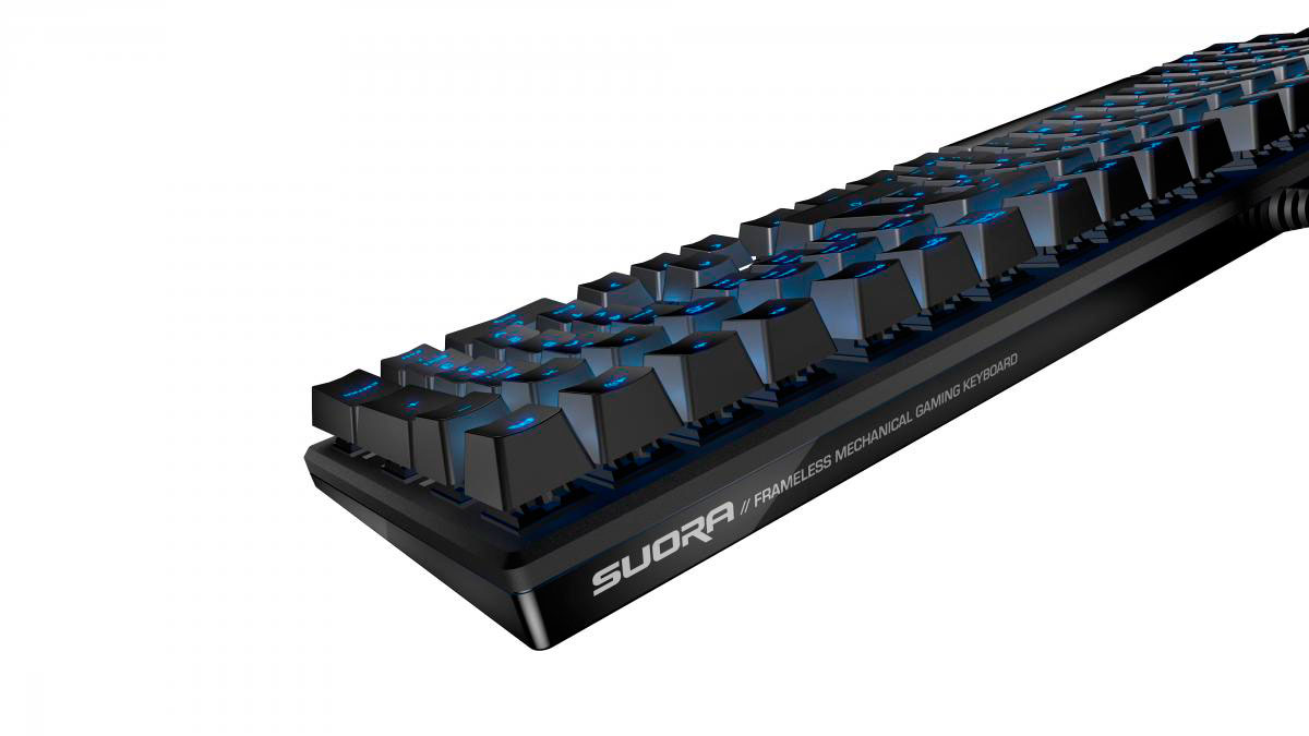 ROCCAT Drops Suora: Compact Full Size Gaming Keyboard